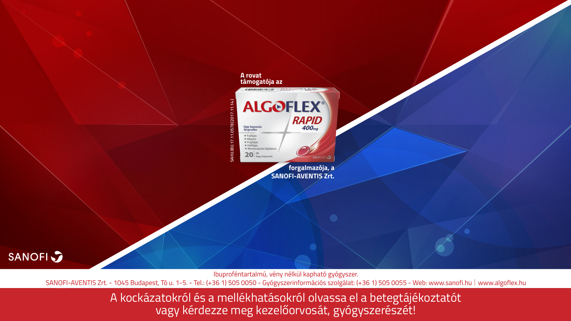 sanofialgoflex background