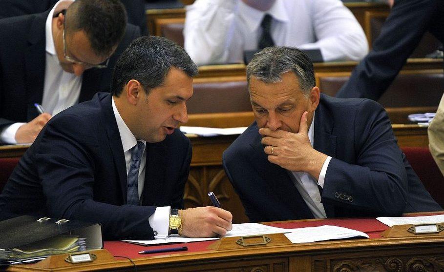 Lázár János és Orbán Viktor (lázár jános, orbán viktor, )