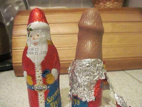 csokoládé pénisz)