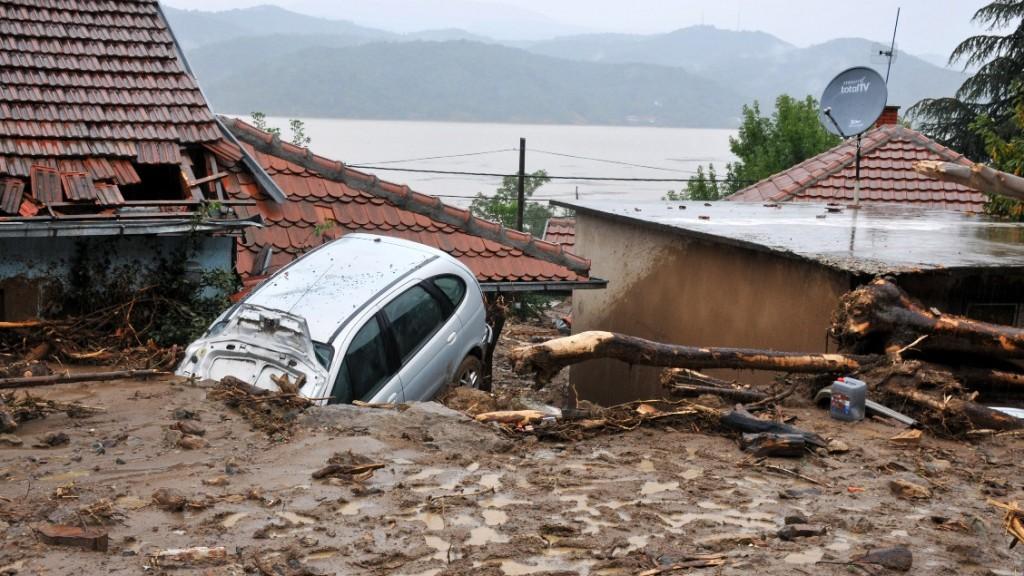 szerb áradás (szerbia, áradás, árvíz, )