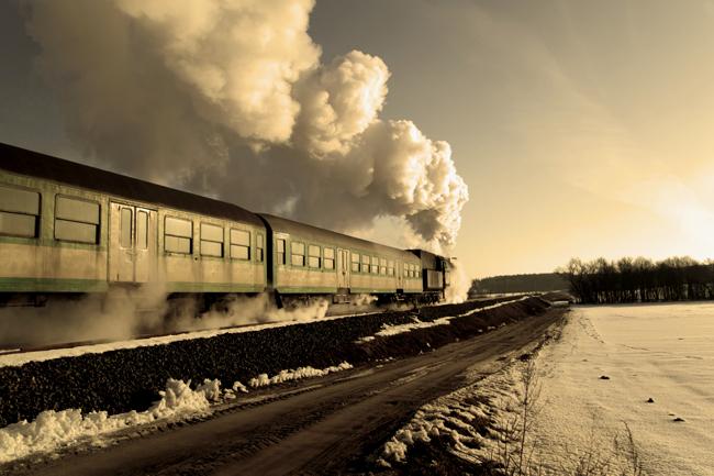 vonat (vonat, gőzmozdony, )