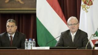 Tarlós és Orbán (fővárosi közgyűlés, orbán viktor, tarlós istván, )