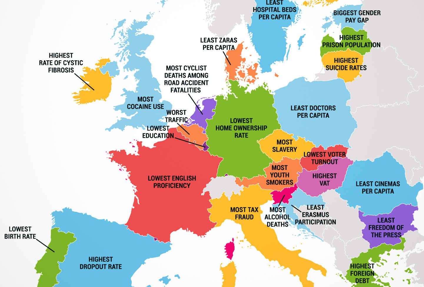 Európa Térkép 2014