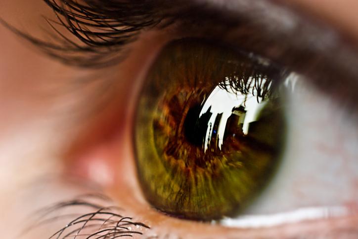 a szemek fájnak és a látás leül