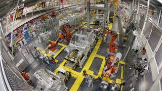 jaguar land rover gyár (Array)