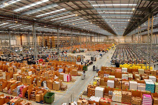 Amazon raktár (Array)