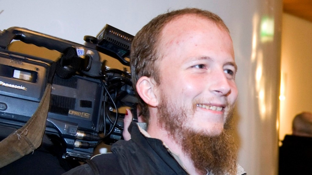 A photo taken on February 16, 2009 shows a co-founder of The Pirate Bay filesharing website, Gottfrid Svartholm Warg, 27, in Stockholm. Warg, 27, who was arrested in the Cambodian capital on August 30, was expelled late on September 10 to Sweden where he faces a one-year prison sentence for promoting copyright infringement.   AFP PHOTO / BERTIL ERICSON