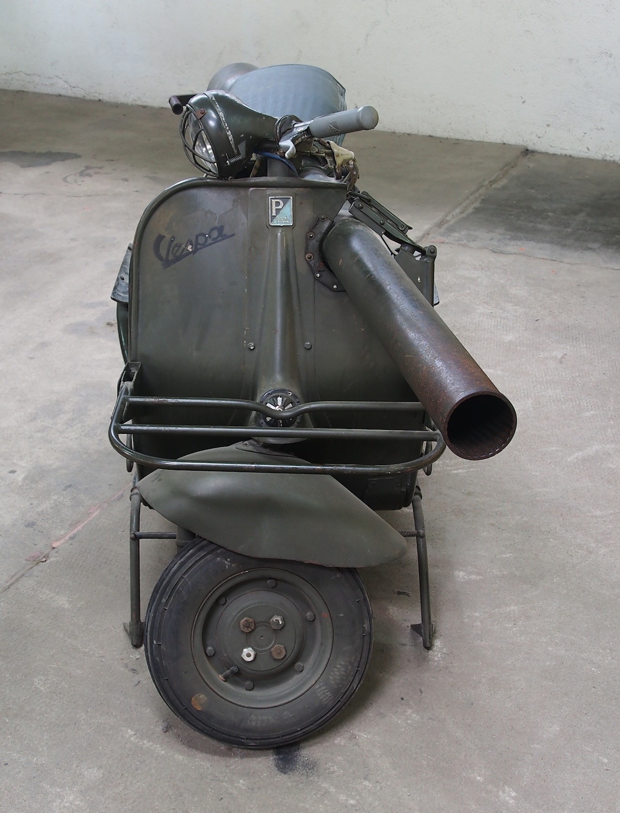 ACMA_TAP,_SPG_Vespa_in_the_Musée_des_Blindés,_France,_pic-1