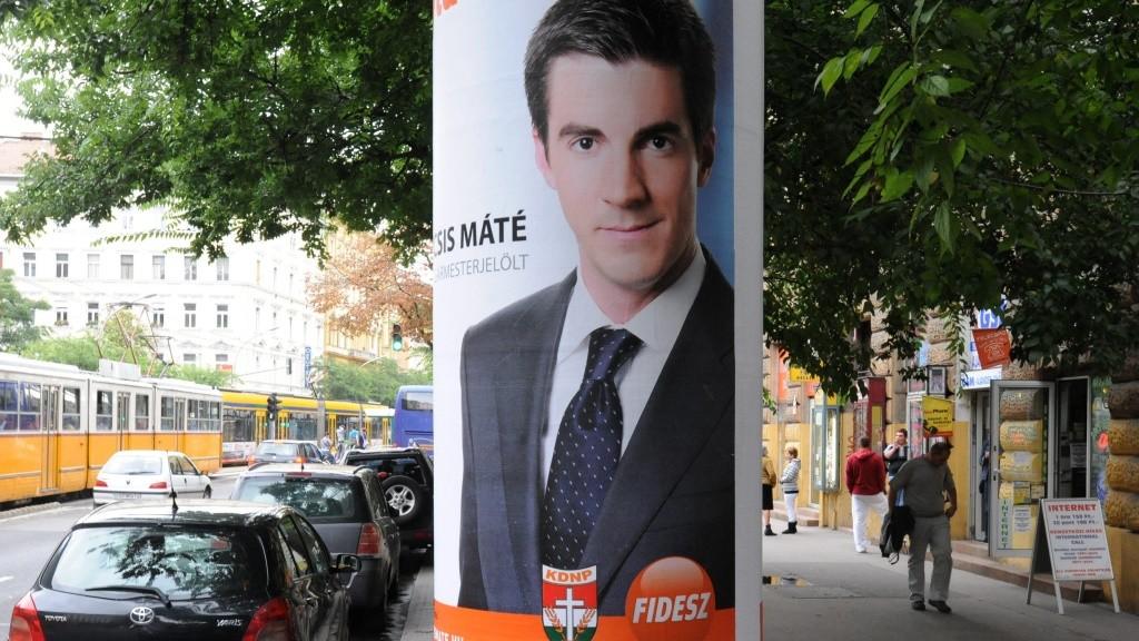 Önkormányzati választás - Plakátok Budapesten