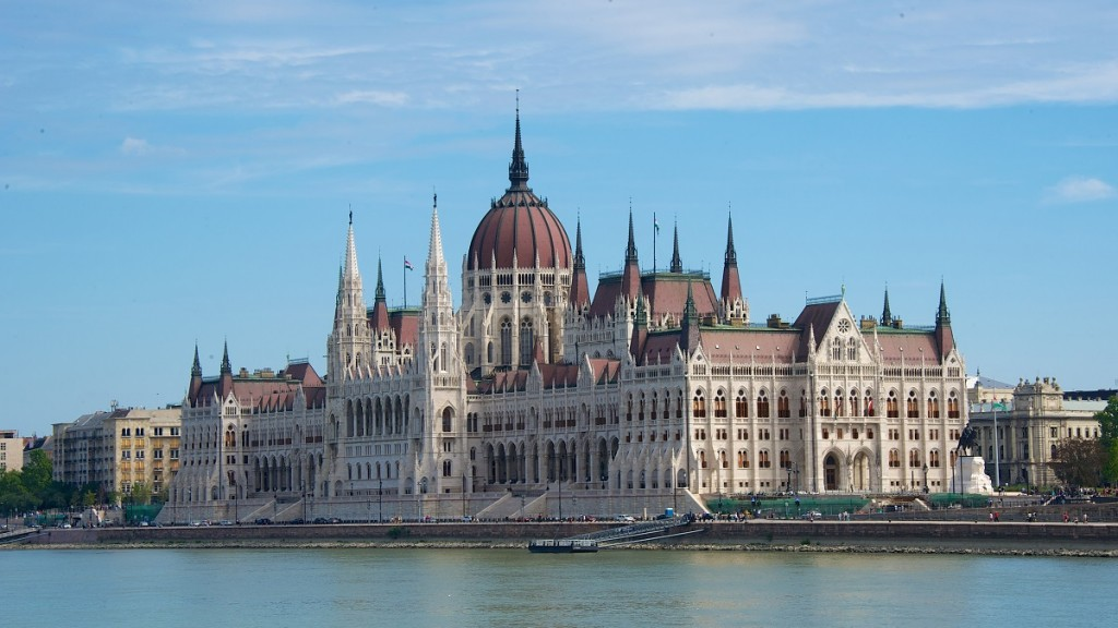 A view of the parliament building and the River Danube in Budapest,Hungary, 22 August 2015. Photo: Ursula Dueren/dpa