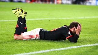 Juan Mata of Manchester United shows a look of dejection after missing a chance during the UEFA Champions League Group B football match between PSV Eindhoven and Manchester United on September 15, 2015 at The Philips Stadion in Eindhoven, Netherlands. Photo Kieran McManus / Backpage Images / DPPI