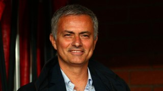Chelsea manager Jose Mourinho smiles before the Capital One Cup Fourth Round match between Stoke City and Chelsea played at The Britannia Stadium, Stoke-on-Trent on October 27th 2015. Photo Kieran McManus / BPI / DPPI