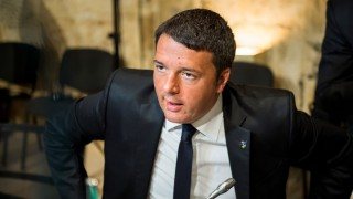 20151112 - VALLETTA, MALTA: Italian Prime Minister Matteo Renzi pictured on the second day of a Summit of African and European government leaders on the migration crisis, Thursday 12 November 2015 in Valletta, Malta. BELGA PHOTO LAURIE DIEFFEMBACQ