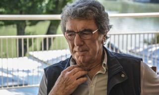 ROME, ITALY  - JUNE 04: Dino Zoff, Italian former football goalkeeper and the oldest winner ever of the World Cup, speaks to the media about UEFA Champions League Final and FIFA on June 04, 2015 in Rome, Italy. Baris Seckin / Anadolu Agency