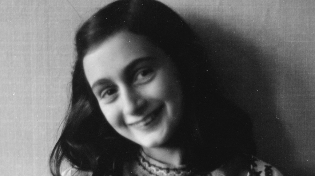 Anne Frank poses in 1941.