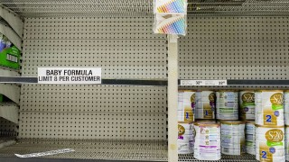 XXX on November 12, 2015 in Sydney, Australia. The Federal Government has started talks with major retailers to try and address the growing shortage of baby formula in Australia, as Chinese demand outstrips local supplies.