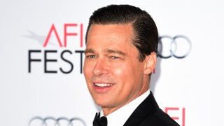 Actor-producer Brad Pitt arrives for the opening night gala premiere of Universal Pictures' 'By the Sea' during AFI FEST 2015 presented by Audi at the TCL Chinese Theatre in Hollywood, California on November 5, 2015.         AFP PHOTO / MARK RALSTON