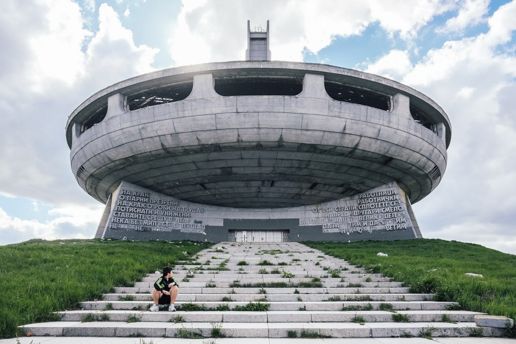 buzludzha communist monument bulgaria