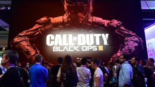 """(FILES): This June 16, 2015 shows gaming fans waiting in line to play Activision Blizzard 's Call of Duty Black Ops III at E3 - the Electronic Entertainment Expo - an annual video game conference and show at the Los Angeles Convention Center on June 16, 2015 in Los Angeles, California. US video game producer Activision Blizzard announced late November 2, 2015 that it was buying King Digital Entertainment, best known for its """"Candy Crush"""" mobile game, for $5.9 billion. Activision Blizzard, which produces such games as """"Call of Duty,"""" said in a statement that the purchase """"will create one of the largest global entertainment networks with over half a billion combined monthly active users in 196 countries.""""    AFP PHOTO / Files / FREDERIC J. BROWN"""