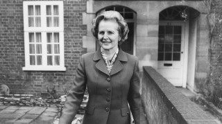 British politician Margaret Thatcher, Leader of the Opposition, pictured leaving her home in Chelsea, London, March 3rd 1978. (Photo by David Ashdown/Keystone/Getty Images)