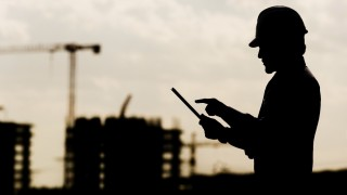 Construction manager and digial tablet