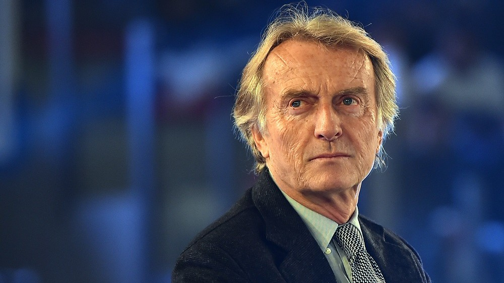 Luca Cordero di Montezemolo, Chairman of Rome's bid to host 2024 Olympic Games attends the unveil ceremony of the Rome's logo on December 14, 2015.   Budapest, Los Angeles, Paris and Rome are in the race to host the summer Olympics Games 2024. The International Olympic Committee will make a decision in mid-2017.  / AFP / GABRIEL BOUYS