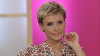 Budapest, 2013. április 22. Jakupcsek Gabriella műsorvezető az M1 televíziós csatorna Ridikül című női beszélgetős műsorában, az MTVA gyártóbázisának 7-es stúdiójában.  MTVA Fotó: Zih Zsolt
