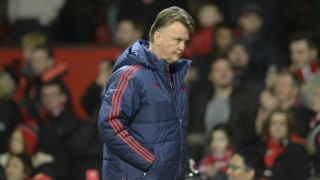 Manchester United's Dutch manager Louis van Gaal leaves the pitch at full-time during the English Premier League football match between Manchester United and Southampton at Old Trafford in Manchester, north west England, on January 23, 2016. AFP PHOTO / OLI SCARFF  RESTRICTED TO EDITORIAL USE. No use with unauthorized audio, video, data, fixture lists, club/league logos or 'live' services. Online in-match use limited to 75 images, no video emulation. No use in betting, games or single club/league/player publications. / AFP / OLI SCARFF