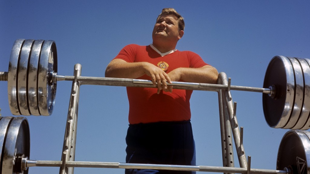 Two-time Olympic champion in weightlifting, World and European, many-time champion of the USSR Leonid Zhabotinsky.