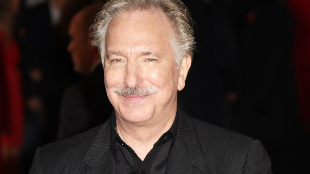 ENGLAND, London: Alan Rickman at the World Film Premiere of 'Gambit' at the Empire Cinema, Leicester Square on November 7, 2012.Rickman died after suffering from cancer, according to his family. He is best known for his roles in Die Hard, The Harry Potter series and Robin Hood. He was 69 years old. - CITIZENSIDE/RICHARD GOLDSCHMIDT