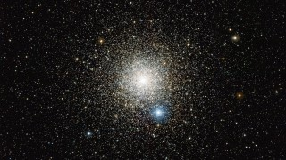 """EMBARGOED UNTIL MAY 29, 2013 19:00 CEST A handout photo provided on May 27, 2013 by the European Southern Observatory of a Wide Field Imager on the MPG/ESO 2.2-metre telescope at  the La Silla Observatory in Chile shows the globular star cluster NGC  6752 in the southern constellation of Pavo (The Peacock). Studies of  this cluster using ESO's Very Large Telescope have unexpectedly revealed  that many of the stars do not undergo mass-loss at the end of their  lives. RESTRICTED TO EDITORIAL USE - MANDATORY CREDIT """"AFP PHOTO / ESO  - NO MARKETING NO ADVERTISING CAMPAIGNS - DISTRIBUTED AS A SERVICE TO CLIENTS / AFP / EUROPEAN SOUTHERN OBSERVATORY / HO"""