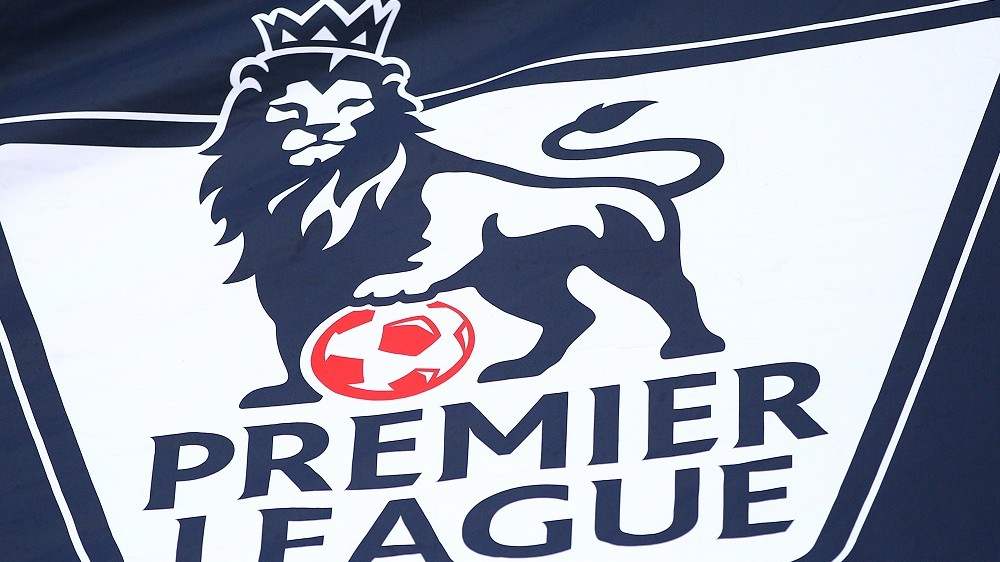 Barclays Premier league lion logo during the Barclays Premier League match between Tottenham and Sunderland played at White Hart Lane on January 16, 2016 in London - Photo Michael Zemanek / BPI / DPPI