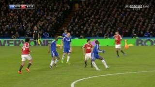 ****Ruckas Videograbs****  (01322) 861777*IMPORTANT* Please credit Sky Sports for this picture.07/02/16Chelsea v Manchester UtdKurt Zouma lands badly and has to be stretchered offOffice  (UK)  : 01322 861777Mobile (UK)  : 07742 164 106**IMPORTANT - PLEASE READ** The video grabs supplied by Ruckas Pictures always remain the copyright of the programme makers, we provide a service to purely capture and supply the images to the client, securing the copyright of the images will always remain the responsibility of the publisher at all times.Standard terms, conditions & minimum fees apply to our videograbs unless varied by agreement prior to publication.