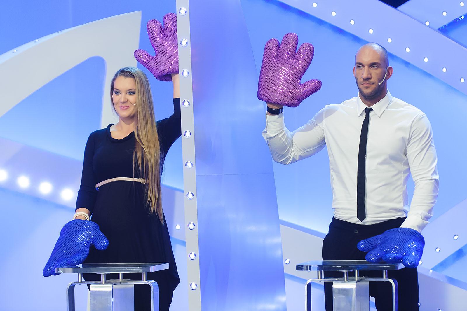 Berki Krisztián és Hódi Pamela a Sztárpár-show című műsorban