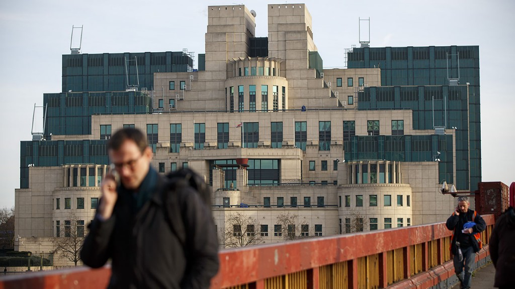 LONDON, UNITED KINGDOM - JANUARY 21: A general view of the British Secret Intelligence Service (SIS), commonly known as MI6's headquarters at Vauxhall Cross in London, United Kingdom on January 21, 2016. Tolga Akmen / Anadolu Agency