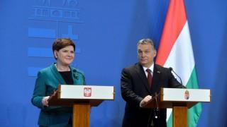 A lengyel miniszterelnök Budapesten