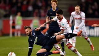 +++ during the Bundesliga match between 1. FC Koeln and Hertha BSC at RheinEnergieStadion on February 26, 2016 in Cologne, Germany.