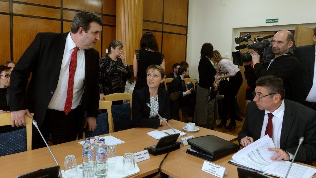 Az Országgyűlés kulturális bizottságának ülése
