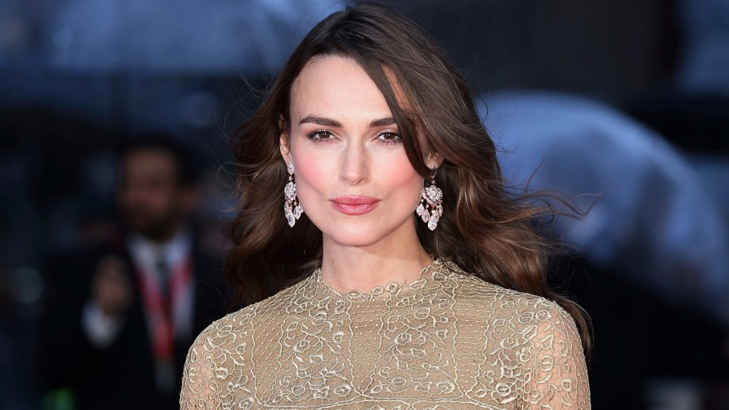 """LONDON, ENGLAND - OCTOBER 08:  Keira Knightley attends a screening of """"The Imitation Game"""" on the opening night gala of the 58th BFI London Film Festival at Odeon Leicester Square on October 8, 2014 in London, England.  (Photo by Mike Marsland/WireImage)"""