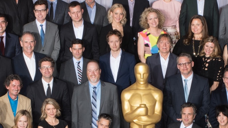 Nominees for the 88th Oscars¨ at the Nominees Luncheon at the Beverly Hilton, Monday, February 8, 2016. The 88th Oscars¨, hosted by Chris Rock, will air on Sunday, February 28, live on ABC.