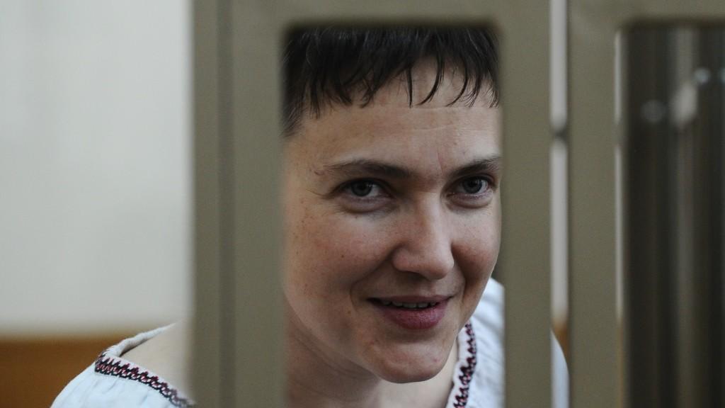 2800345 03/02/2016 Ukrainian citizen Nadezhda Savchenko, accused of involvement in the deaths of Russian journalists in Ukraine, at the Donetsk City Court in Rostov Region. Sergey Pivovarov/Sputnik