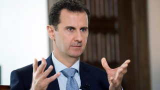 2816405 03/29/2016 Syrian President Bashar al-Assad during an interview with Rossiya Segodnya Director General Dmitry Kiselev./?????-?????? ?????????? ????? ?????? ????? / Sputnik
