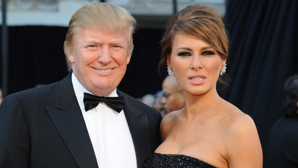 Donald Trump and his wife Melania arrives on the red carpet for the 83rd Annual Academy Awards held at the Kodak Theatre on February 27, 2011 in Hollywood, California. AFP PHOTO / MARK RALSTON / AFP / MARK RALSTON