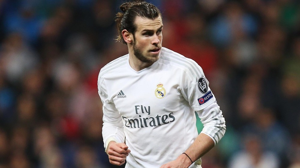 Gareth Bale of Real Madrid during the UEFA Champions League Quarter Final Second Leg football match between Real Madrid and VFL Wolfsburg on April 12, 2016 played at Santiago Bernabeu Stadium in Madrid, Spain - Photo James Marsh / Backpage Images / DPPI