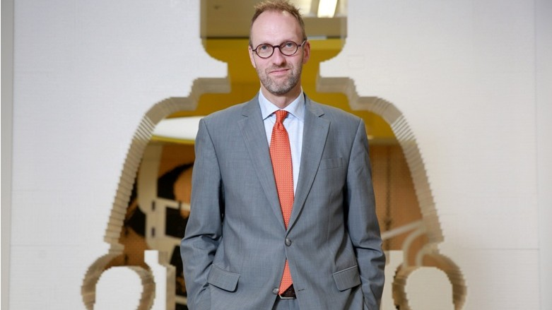 EDITORIAL USE ONLY LEGO President and Chief Executive Officer of the LEGO Group, Jørgen Vig Knudstorp, attends the opening of the LEGO Group's new office in central London. PRESS ASSOCIATION Photo. Picture date: Friday November 28, 2014 The new office is the fifth main office established globally in recent years by the LEGO Group. Photo credit should read: Matt Alexander/PA Wire