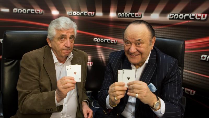 Horvát János (balra) és Korda György