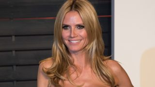 Heidi Klum attends the Vanity Fair Oscar Party at Wallis Annenberg Center for the Performing Arts in Beverly Hills, Los Angeles, US, 28 February 2016. Photo: Hubert Boesl