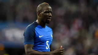 France's defender Mamadou Sakho reacts at the end of the international friendly football match between France and Russia at the Stade de France in Saint-Denis, north of Paris, on March 29, 2016. France won the match 4-2.  / AFP PHOTO / FRANCK FIFE