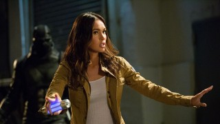 Megan Fox as April O'Neil in Teenage Mutant Ninja Turtles: Out of the Shadows from Paramount Pictures, Nickelodeon Movies and Platinum Dunes