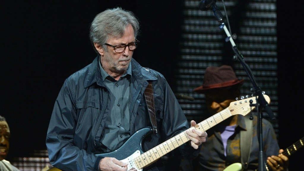 NEW YORK, NY - APRIL 13: Eric Clapton performs on stage during the 2013 Crossroads Guitar Festival at Madison Square Garden on April 13, 2013 in New York City.   Larry Busacca/Getty Images/AFP / AFP PHOTO / GETTY IMAGES NORTH AMERICA / Larry Busacca